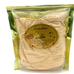 Wholesale 24K GOLD Active Face Mask Powder Brightening Luxury Spa Anti Aging Wrinkle K Gold Mask Powder Treatment Facial Mask G