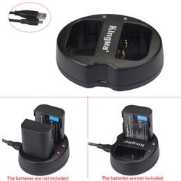 Wholesale KingMa BM015 BLF19E Dual Channel Battery Charger for DMW BLF19E Panasonic Lumix DMC GH3 GH3GK GH4 Camera
