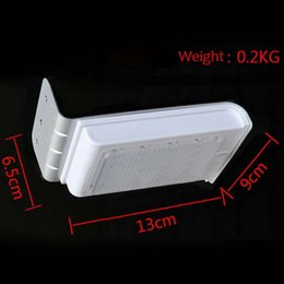 Wholesale-s16 LED Solar Power Motion Sensor Garden Security Lamp Outdoor Waterproof LightHot New Arrival
