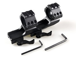 Wholesale Rifle Tactical quot PEPR Style mm mm Dual Ring Cantilever Scope Mount Picatinny Weaver Rail LD3003 PC