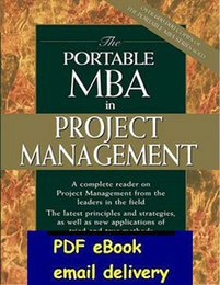 Wholesale The Portable MBA in Project Management