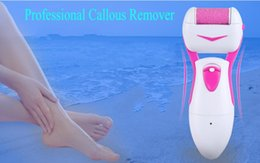 Wholesale Callous Remover Dead Skin Removal Electric Foot Exfoliator Heel Cuticles Remover Feet Pedicure Device Rechargeable Foot Care Kit