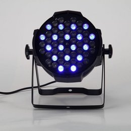 Free shipping Cast aluminium 54X3W RGB RGBW LED Wedding Lighting, LED Wash Lighting, LED DJ Lighting