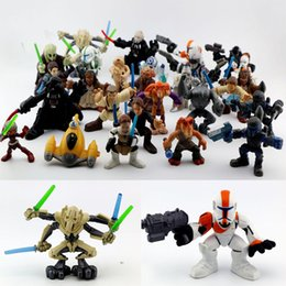 Wholesale 2016 Hasbro Star Wars Mini Action Figures Capsule toys Cartoon Anime Starwars dolls dolls dolls produced ornaments cm Children s gift