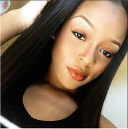 100% Virgin Unprocessed Human Hair Wigs for Black Women Lace Front Wigs Hair Silky Straight Natural Color