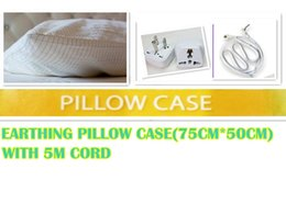 Wholesale EARTHING sheet PILLOW CASE Silver Antistatic Fabric For Earthing grounded Antimicrobial Conductive fabric earthing sheet