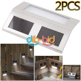Wholesale Corporate Central Purchasing LED Stainless Steel Solar Light Solar staircase fence garden lights wall lights