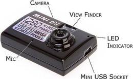 Top Quality Camera Black Mini Hidden DV DVR Video Motion Detection Sound Camera Recorder Webcam Funny