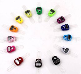 Wholesale High quality promotional gift Tally Muslim Counter Finger Counters sxh5136 finger counter LED hand tally counters for muslim