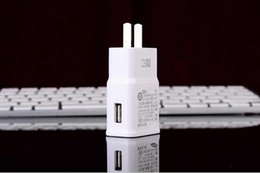 Wholesale Adaptive Fast Charging For Samsung Travel Charger For Galaxy Note S6 edge plus V A Universal Charger
