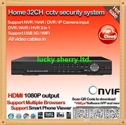 CIA-home security 32ch H.264 real time recording video surveillance dvr recorder HDMI 1080P 32 channel DVR for monitoring system