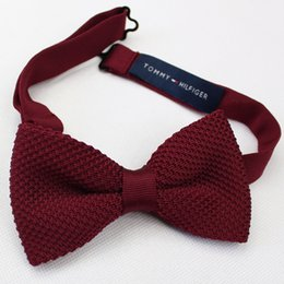 Wholesale American big trade of the original single advanced custom tie male business formal tie knit tie hand stitched craft