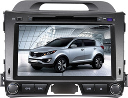 Wholesale 8 inch Special Car DVD Player For KIA Sportage R with GPS IPOD Bluetooth Steering Wheel control PIP dual zone CAN BUS TV