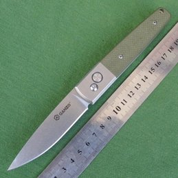 Original GANZO Mini Pocket EDC Folding Knife Kitchen Knife 440c Blade G10 Handle G7211-GR G7211-BK