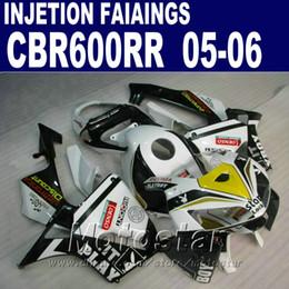 Wholesale White black bodyworks Injection Molding for HONDA CBR RR fairing cbr600rr cbr rr fairings kit VT6S
