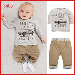 Infant Outfits Boy Suit Toddler Clothes Kid Long Sleeve T Shirt Boys Long Trousers Baby Clothing Children Set Kids Suit Outfits