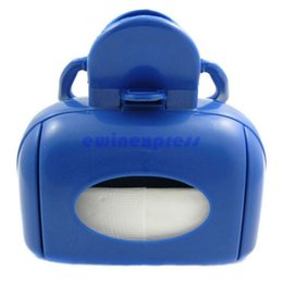 Wholesale Handle Portable Blue Pet Waste Pickup Tool Pet Puppy Dog Cat Waste Pooper Scooper Pick Up