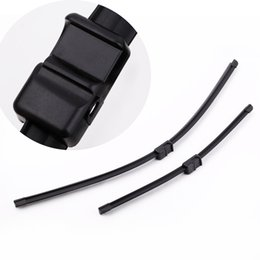 Wholesale 2PCS quot quot Car Accessories Windshield Wiper Blade Rubber Strip Bracketless Soft Rubber Arm Blade for Ford Focus MK2 K2579