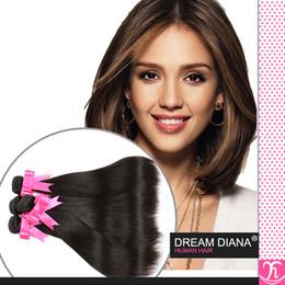 Grade 7a Unprocessed Virgin Hair Straight Brazilian Hair 4 Bundles Queen Weave Beauty Hair Wet And Wavy Virgin Brazilian Hair Wholesale