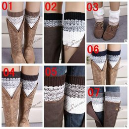 Crochet Boot Cuff 2016 New Hot Knitted Boot Cuff fashion Lady Crochet Boot Cuff Fashion Warm knitted leg warmers