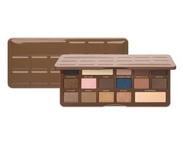 Wholesale New Arrivals semi sweet Chocolate Bar color eyeshadow palette