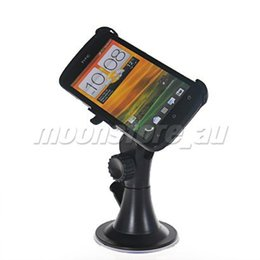 Wholesale-CAR MOUNT HOLDER STAND KIT CRADLE FOR HTC ONE S FREE SHIPPING