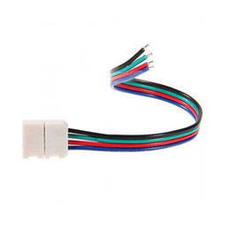 RGB 4PIN 10MM LED Strip Connector no soldering for SMD5050 RGB LED Strip Light