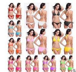 Wholesale Sexy Whippings - In the summer of 2016 the latest ms sexy poly breasts sexy bikini swimsuit whip with the code set 10 yan S free shipping