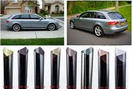 Wholesale 152cm x cm Black Window Tint Film Glass Roll Car Auto House Commercial