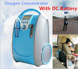 Wholesale Advanced PSA Medical Li Battery Oxygen Concentrator With Bag Car Power Lithium Battery Healthcare Portable O2 Generator