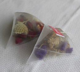 Wholesale 1000pcs nylon pyramid tea bag mm empty teabags per opp bag