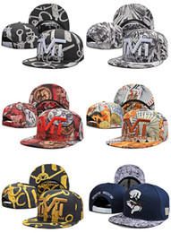 Wholesale cool new style TMT snapback caps hat hip hop letter caps for men women basketball snapbacks hats street corner casual baseball cap