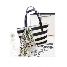 Wholesale big canvas striped plaid handbags ladies party purse valentine clutches women famous designer shoulder shopping bags Z281