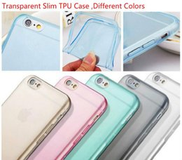 Wholesale SlimTransparent mm galaxy s6 case Soft TPU Case Cover For i phone plus s s Samsung s5 s6 note4 HTC M8 Sony Z3 cellphone cases