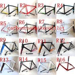 Wholesale 2014 top best quality full carbon bike colour Road bikes full BIKE frame Italian flag bicycle frames k framework