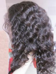 Top quality glueless full lace wigs virgin remy indian hair front lace wigs straight natural color 130% density 100% human hair wigs