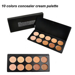 10 Colors Cream Concealer Makeup Facial Concealer Cream Foundation Makeup Concealer Palette Professional Cosmetic 2802005