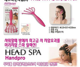 Wholesale Soft Resin Finger Gripper Claw Head Spa Scalp Massage Tool Neck Back Relaxer Massage