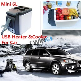 Wholesale Mini Portable DC V L USB Electric power Heater Cooler Thermoelectric For Car Travel and Home