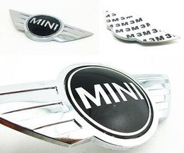 Wholesale CLUBMAN S FRONT HOOD OEM EMBLEM badge symbol logo with M tape for BMW MINI COOPER
