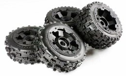 Wholesale Rovan Baja B b two generation of waste tire assembly remote auto parts tire before and after a total of