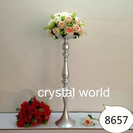 tall flower stand centerpieces for wedding decoration