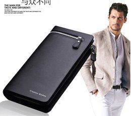 Wholesale Leather Men Wallet Card Wallet PU Black Brown Purse Case High Quality Man Business Money Clip Bifold Purses Card Holder