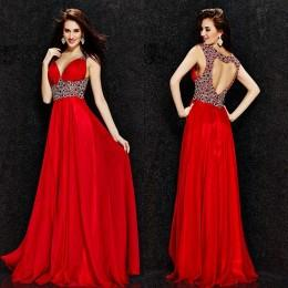 Wholesale 2016 Prom Dresses Angela and Alison Spring New Arrival Sexy Deep V Neck Backless Evening Gowns Long Wedding Party Dresses with Crystals