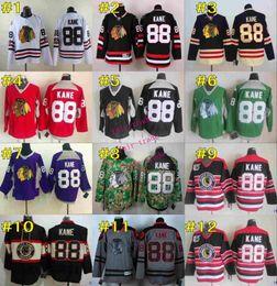 Wholesale chicago blackhawks patrick kane CCM Throwback Vintage Jersey Cheap ICE Hockey Jerseys Heritage Stitched Size