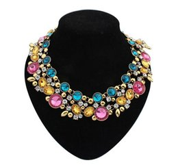 Wholesale-2015 NEW hot sale fashion necklace collar Necklaces Pendants statement necklace choker Necklaces jewelry for women