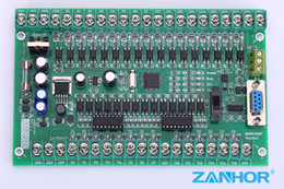 Wholesale 2016 The New Hot Selling PLC120 Single board plc FX2N MT compatible for Mitsubishi plc STM32 MCU input output High Quality