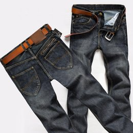 Wholesale Jeans Men New Arrival Male True Jeans style Denim Casual style Skinny Washed long Straight Jean pants for Man