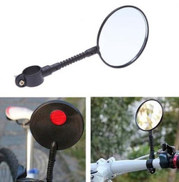 Wholesale New Arrive High strength ABS material bicicleta mountain bike MTB Bicycle Rear View Mirror Reflective Flat Mirrors bike accessories
