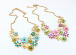 Wholesale New Style Women Bubble Bib Statement Necklace Jewelry Chokers Necklace For Wedding Birthday Party Presents Style Choose XL5523